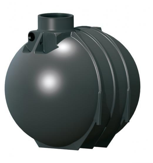 Plastová zesílená jímka BlackLine II 5200 l