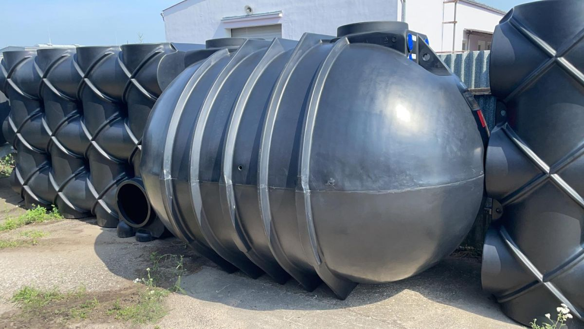Podzemní nádrž na dešťovou vodu 10000 l - BlueLine II