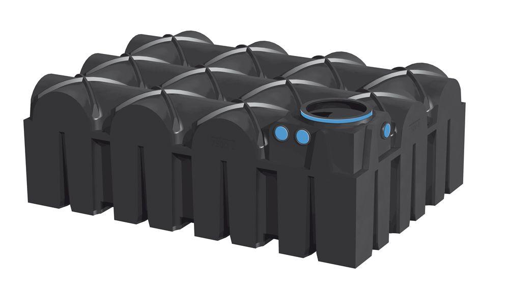 Plastová nádrž na dešťovou vodu 7500 l - F-LINE