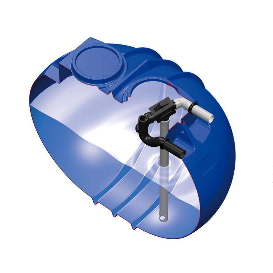 Plastová samonosná jímka BlueLine II 2600 l s filtrem