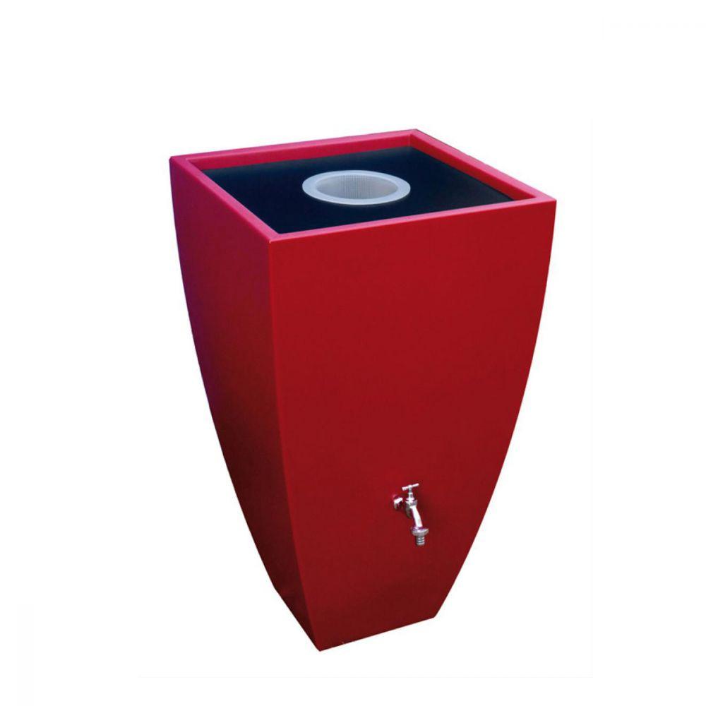 Okrasná venkovní nádrž Modena 200 l - rubínově červená