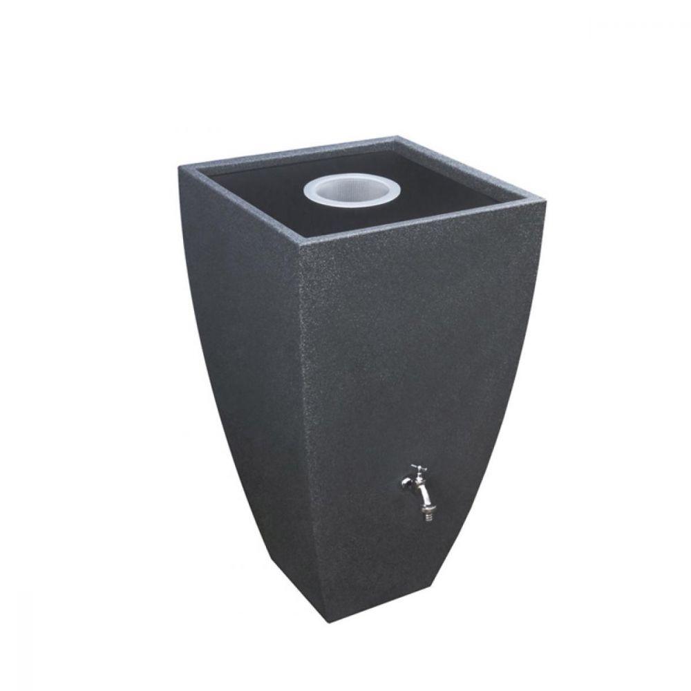 Okrasná venkovní nádrž Modena 350 l - černý granit
